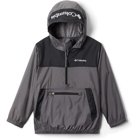 Columbia Bloomingport Windbreaker Jacke Kinder city grey/black